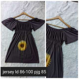 Sabrina dress sunflower