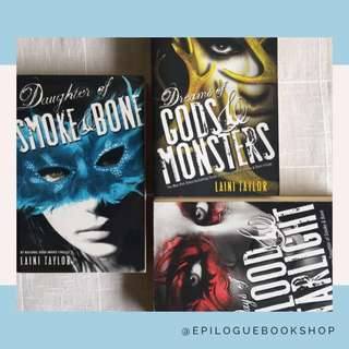 Daughter of Smoke and Bone Trilogy (Laini Taylor)