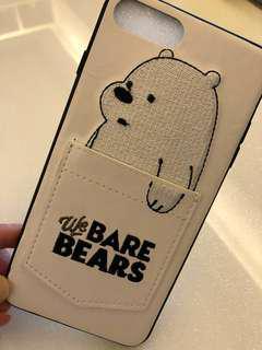 Bare bear iphone hp casing