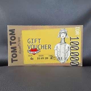 TomTom Cash Voucher