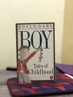 Boy: Tales of Childhood (Roald Dahl)