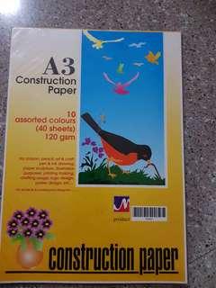 A3 construction paper