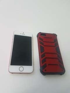 Iphone SE 16gig Rosegold