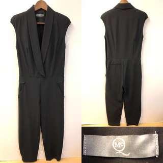 Alexander Mcqueen black jumpsuit size 40