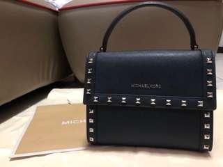REPRICED Michael Kors Dillon Studded Messenger Leather Bag