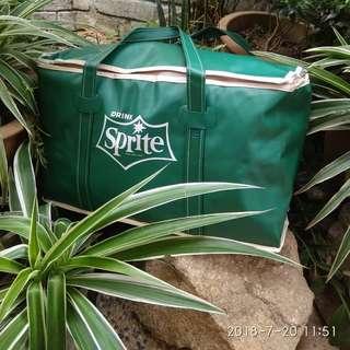 Vintage sprite coolbag