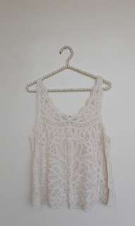 PinkManila Crochet Top