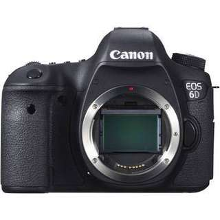 Canon EOS 6D Mark 1 *Brand New, 3 years warranty by Canon Malaysia*** OFFER