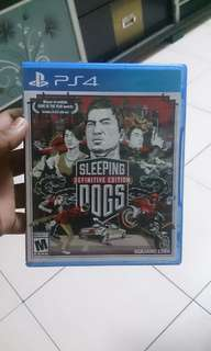 Sleeping dog Ps4 sell or swap