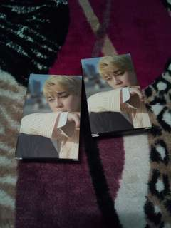 BTS Jimin Lomo Card