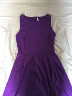 ally (aus brand) casual violet dress