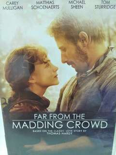 Far from the madding crown movie DVD