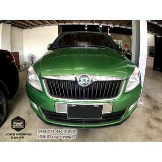 百年綠翼 歐風輕休旅 ─ Škoda Fabia 1.2 TSI 頂規