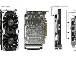 Zotac GTX1060 6GB Twin Fan non Amp