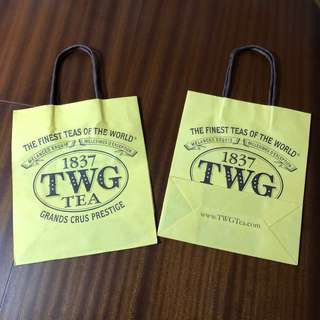 TWG Empty Paper Bag