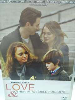 Love & other impossible pursuit movie dvd