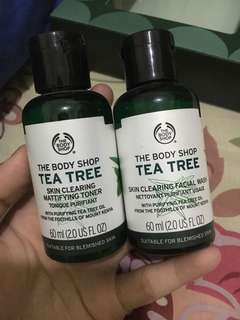Toner & Cleansing The Body Shop