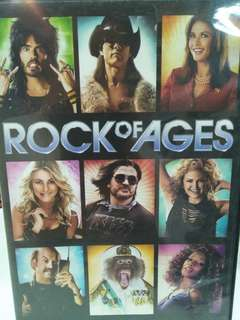 Rock of ages movie dvd