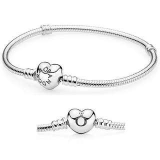 Pandora limited edition bracelet with charms