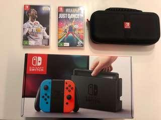 Nintendo Switch ( FULL SET)