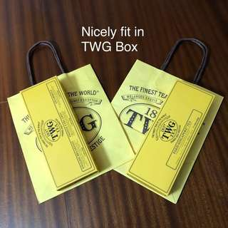 TWG 2Box2Bag, Empty