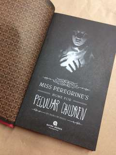 Miss peregrines home of peculiar children