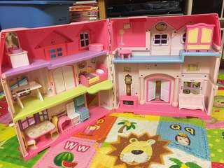 玩具屋,女孩必備,培養愛心,遊戲中可觀察孩子心靈狀況