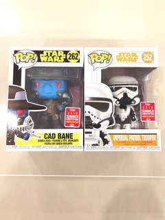 Funko SDCC 2018 Star Wars Collection