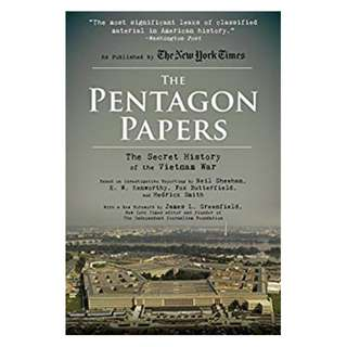 The Pentagon Papers: The Secret History of the Vietnam War Kindle Edition by Sheehan Neil (Author), Smith Hedrick (Author), E. W. Kenworthy (Author), Butterfield Fox (Author), James L. Greenfield (Foreword)