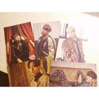 SHINee 官方絕版postcard