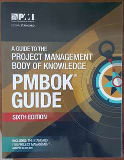PMP PMBOK 6th edition with Agile Handbook