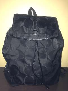Authentic Coach Foldable Backpack