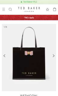 🚚 Ted Baker Bow Detail Small Icon Bag