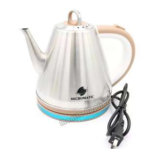 Micromatic MCK-1200 stainless steel electric kettle