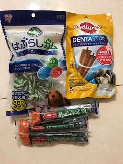 全新 日本iris 綠茶牛皮骨結 K.C dog蔬菜潔牙骨 寶路X型