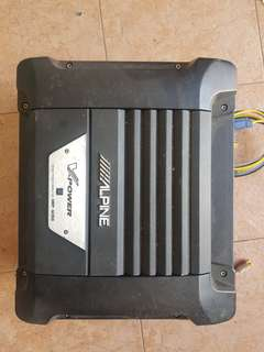 Alpine Subwoofer - SWD-2000 With Amp