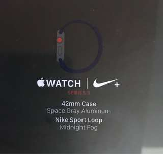 Apple Watch Series 3 LTE 42mm Nike (GPS+Cellular)