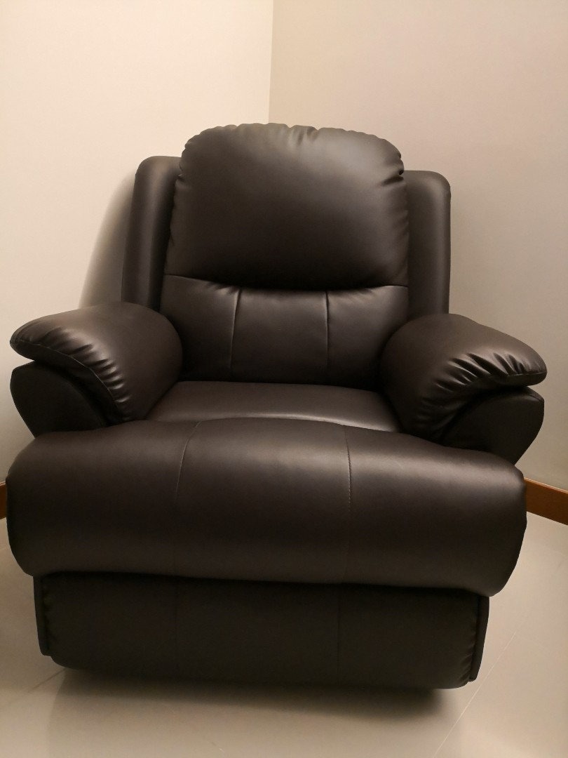 1 Seater Recliner Sofa Furniture Sofas On Carousell