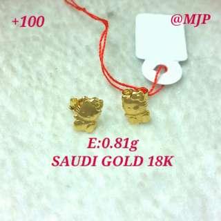 18K SAUDI GOLD 100% PAWNABLE