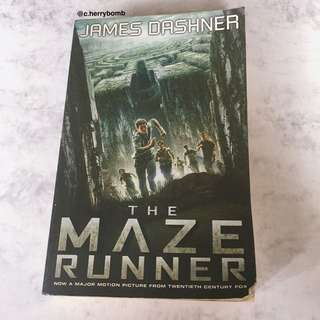 """the maze runner"" by james dashner"