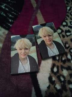 BTS Suga Lomo Card