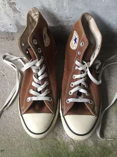 Authentic Brown Chuck Taylor Converse