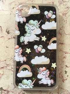 IPHONE 4s glittery unicorn case🦄🦄