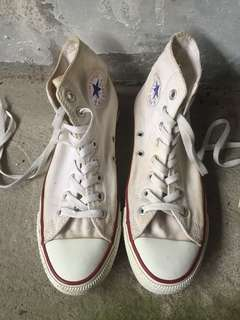 Authentic White Chuck Taylor Converse