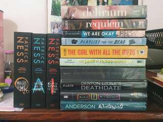 REPRICED! YA BOOKS FOR SALE