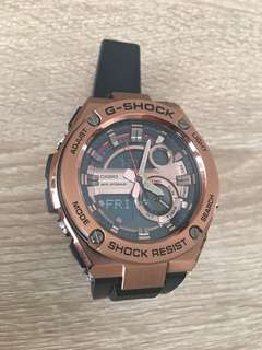 G Shock G Steel Rose Gold - LNIB (Official Casio warranty)