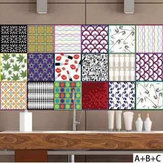 Stickers / Wallpaper Peranakan Fashion