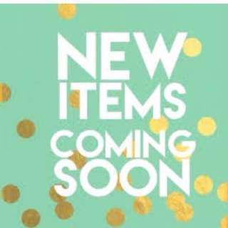 New items!!! :)