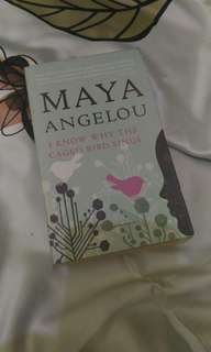 I Know Why The Caged Bird Sings, Maya Angelou (Bahasa Inggris)