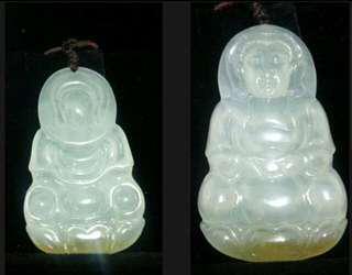 緬甸翡翠冰種觀今 臼、水頭足玉質飽潤、60mmX35X5、全透光